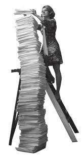 stack of papers file