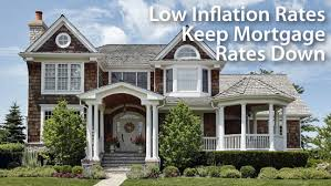low inflation keeps rates low